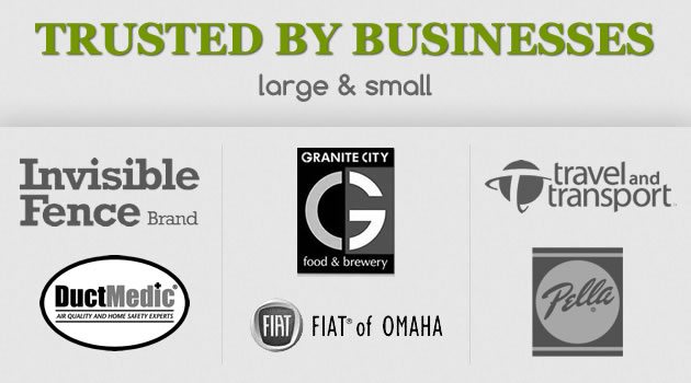 Trusted by businesses large and small for marketing solutions